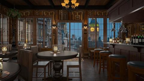 Design 274 London Pub - Dining room - by Daisy320