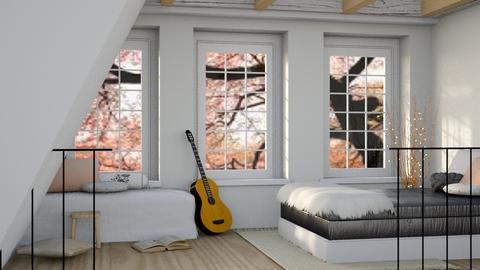 April - Modern - Bedroom - by millerfam