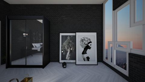 strange windows - Bedroom - by Angela Quintieri