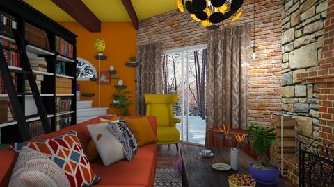 kotage living room 4 - by Moriia