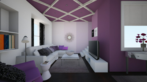 plum living - Living room - by domestikate