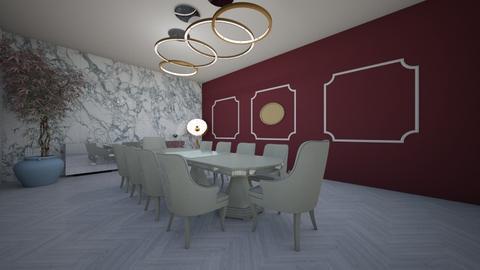 dining - Dining room - by kawierzejska