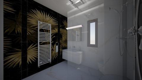 Marian  attic 7 - Bathroom - by Flori Santa
