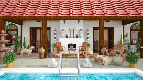 Design 213 Phoenix Living - Garden - by Daisy320