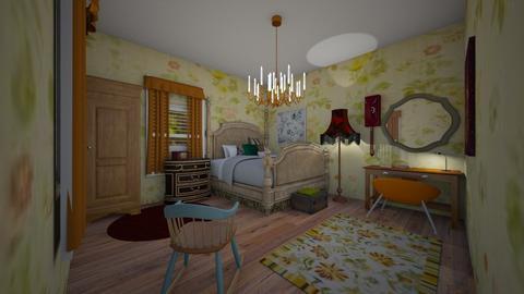 1800s Bedroom - Bedroom - by tekoa06