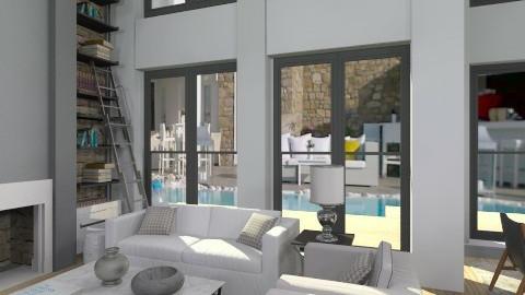 pool loft33 - Living room - by naki1