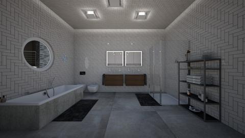 mansion 1 bath 1 - Bathroom - by guyciara87