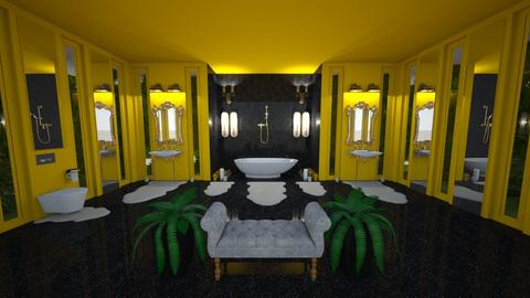 Yellow Bathroom - Bathroom - by angela18076