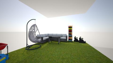 gezellig tuin  - Garden - by djennaa
