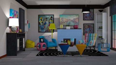 easy - Living room - by pachecosilv