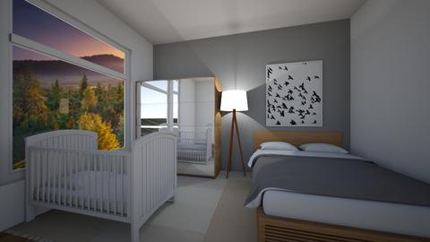 Black birds - Classic - Bedroom - by Twerka