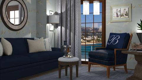 M_Silver swallows_aptm - Living room - by milyca8