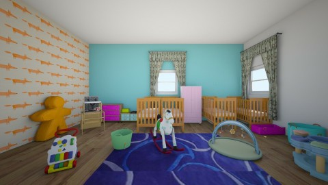 baby room - Bedroom - by hatgirl123