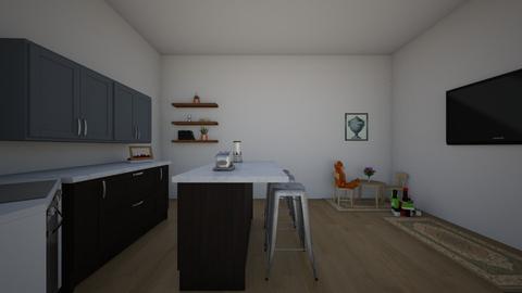 Open Concept Kitchen - Kitchen - by ellarowe224