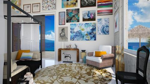 Key West Art Collector - Living room - by Starry Eyed Loser