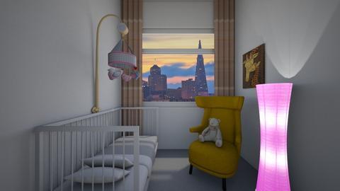 Cot - Classic - Kids room - by Twerka