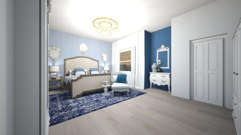 Blue Hue - Bedroom - by Elizmari SchoemanThorne