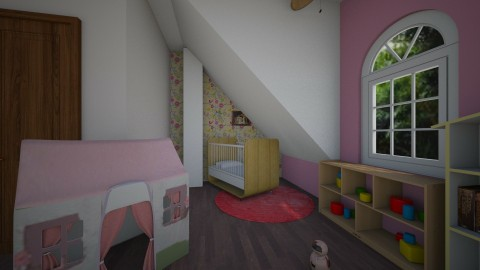 Pink Girly Nursery - by Love2Create