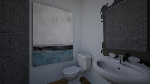 Powder Room 2 - Bathroom - by vetmccray