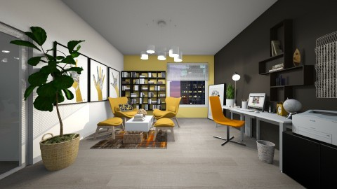Home Office for Kelly - Office - by klara992
