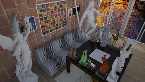 art collection  - Country - Living room - by hello4355