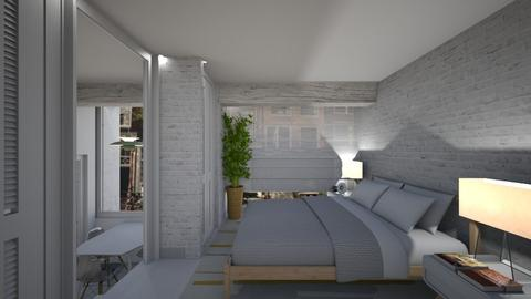 Casa172LBedroom - Eclectic - Bedroom - by nickynunes