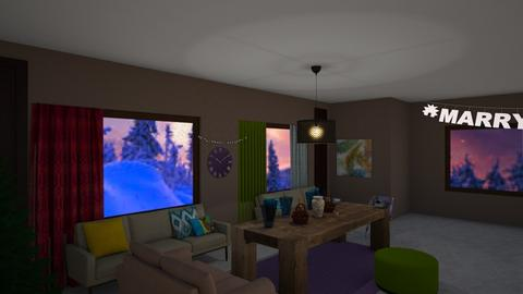 Winter adventure - Country - Living room - by 06966147