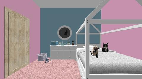 FCS grade 8 - Bedroom - by Grace_the_Grape