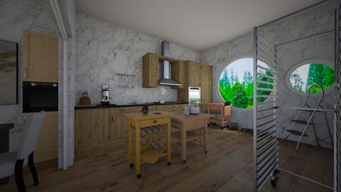 kitchen 2 - Kitchen - by DanielFelipe22