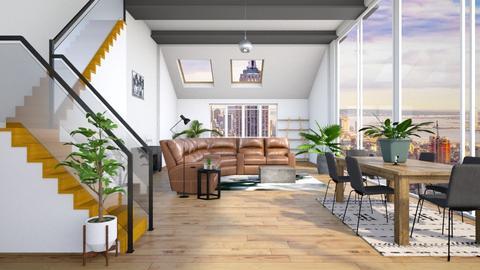 loft house - by EvelynErick