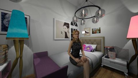 perfect bedroom - Bedroom - by fernanda urrea