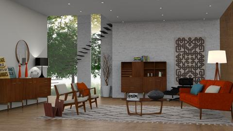 Mid Century Living - Retro - Living room - by sabaclayes