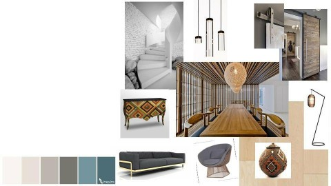 interior 2 moodboard - by Zinilda