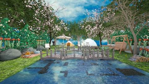 lisi lake - Modern - Garden - by lamzoi