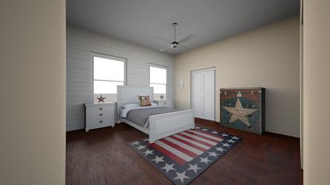 aaron - Bedroom - by jenniferdove629