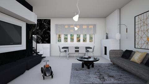 Minimal family home  - Minimal - Living room - by augustmoon