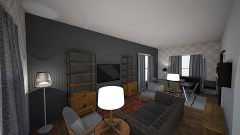 hmmm - Living room - by zellowiz