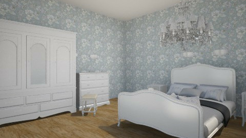 blue - Bedroom - by Daphne Voortman