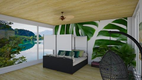 nature in my bedroom - by Gel Colbert
