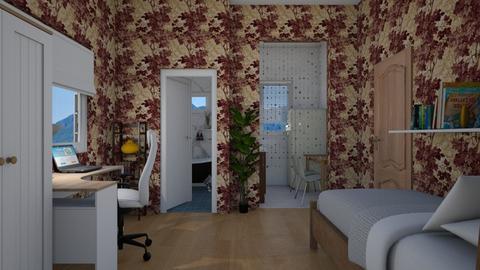 Studio Flat - Minimal - Bedroom - by colorful_eye