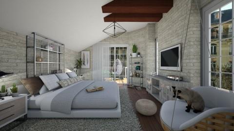 Slopped Nook - Bedroom - by SimonRoshana