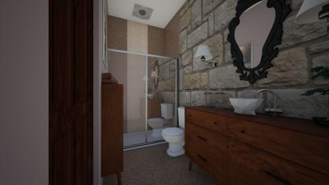 Rustic Traditional - Rustic - Bathroom - by Raquel Collison