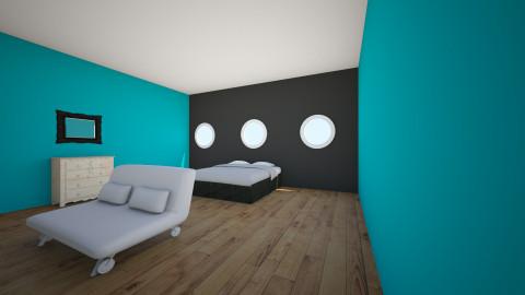 aqua - Bedroom - by taylor2018
