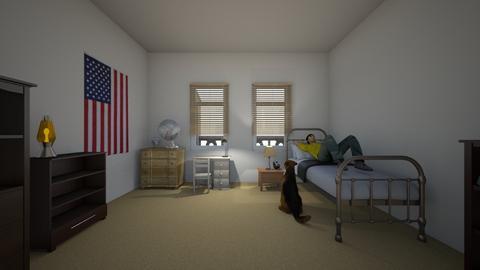 Albertos Bedroom - Kids room - by WestVirginiaRebel