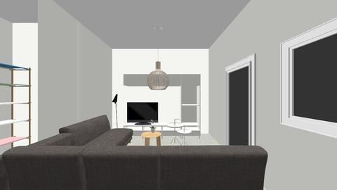 Living apt - Minimal - Living room - by tinegregoor
