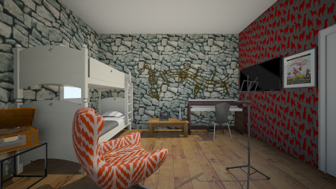 Musitions Nest - Bedroom - by thomas150
