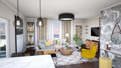 the view residence unit - Living room - by flokopuffs