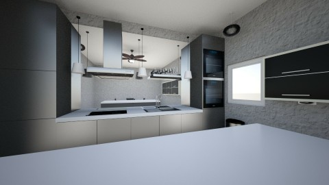 MC Kitchen - Modern - Kitchen - by technobaboo