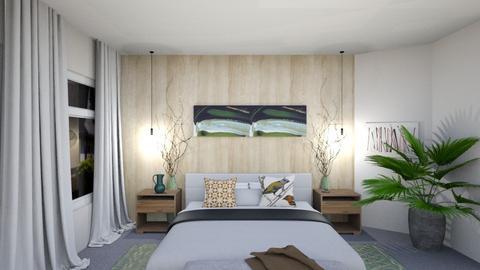 Doshi Living Room V1 - Living room - by louisdhe