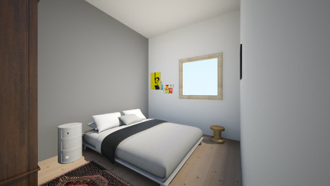Makuuhuone1.1.1 - Modern - Bedroom - by Essi_eames